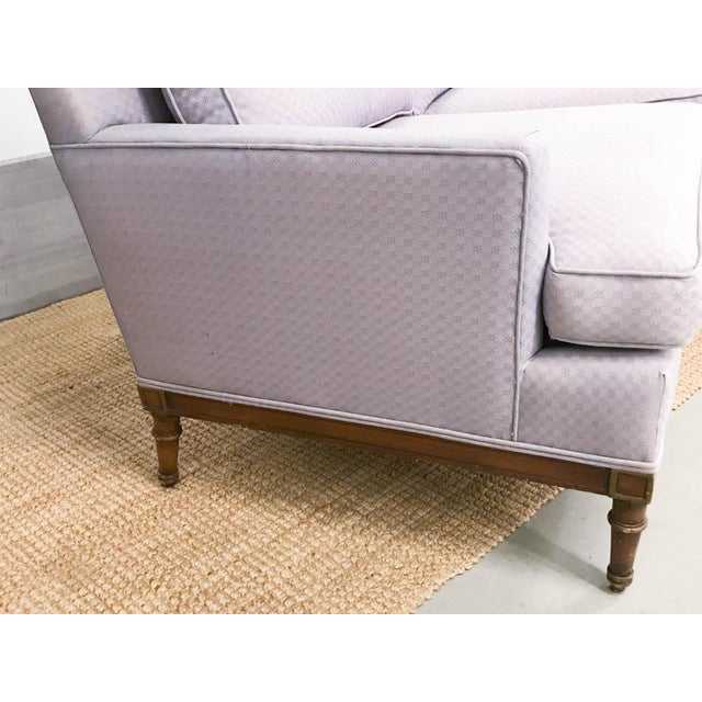 Mid-Century Faux Bamboo Small Sofas - A Pair - Image 4 of 9