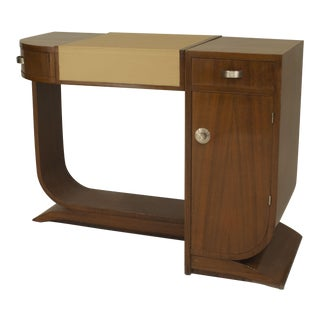 French Art Deco Mahogany Dressing For Sale