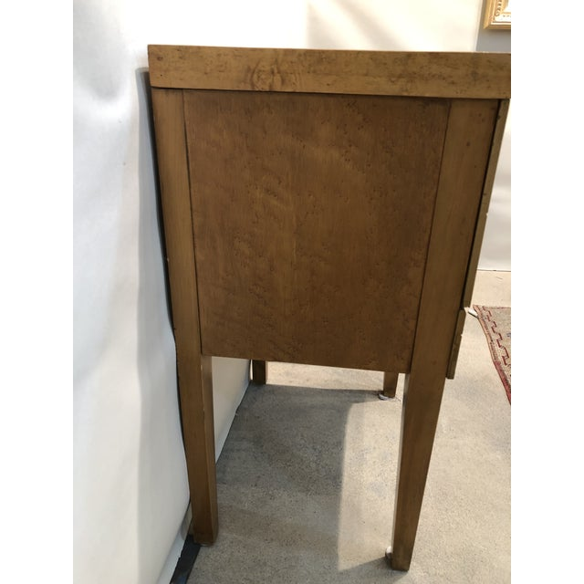 Mid Century Tiger Maple Night Stands - a Pair For Sale In Raleigh - Image 6 of 10
