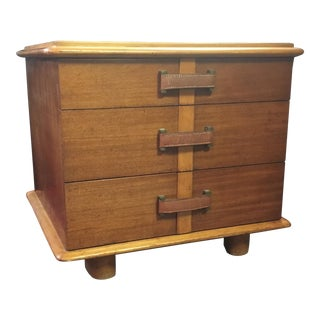 "1940a Mid-Century Modern Paul Frankl for Johnson Furniture ""Station Wagon"" Three-Drawer Chest For Sale"