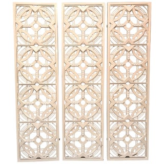 Bsise-Soleil Metal Wall Sculptures or Gate For Sale