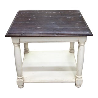 Fremarc Designs Country English End Table For Sale