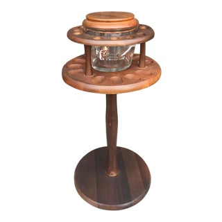 Smoking Stand & Humidor c.1950s For Sale