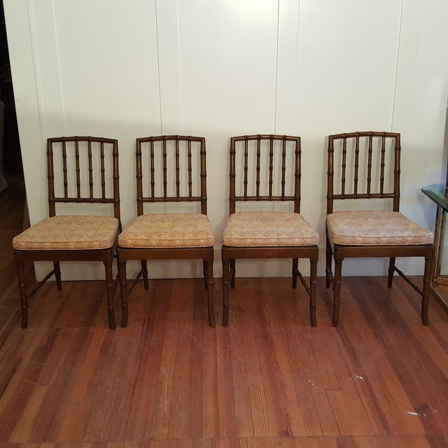 Kindel Chinese Chippendale Dining Chair - Set of 4 - Image 2 of 11