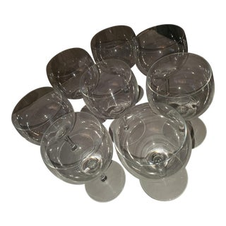 Baccarat Red Wine Glasses - Set of 8 For Sale