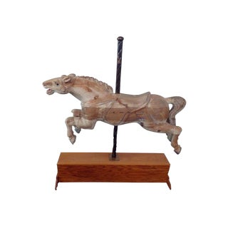 Distressed Carousel Style Horse