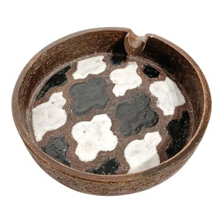 1960s Raymor Bitossi Moroccan Tile Pattern Ashtray For Sale