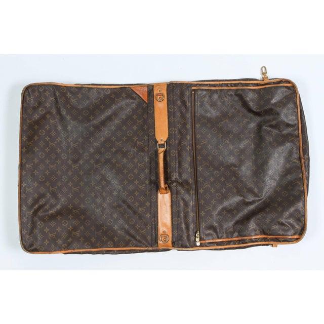 Canvas Vintage Louis Vuitton Garment Carrier For Sale - Image 7 of 8