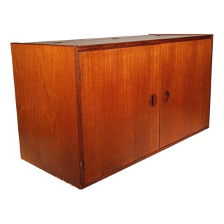 h.g. Furniture Danish Teak Floating Wall Unit For Sale