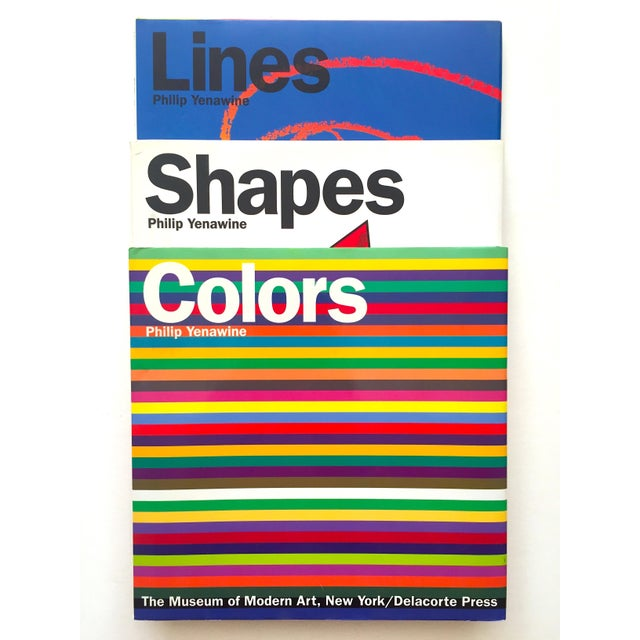 """"""" Colors, Shapes, Lines """" Rare Vintage 1991 1st Edition Museum of Modern Art Children's Art Books - Set of 3 For Sale - Image 12 of 12"""