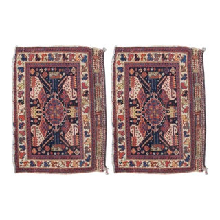 Pair of Afshar Bagfaces For Sale