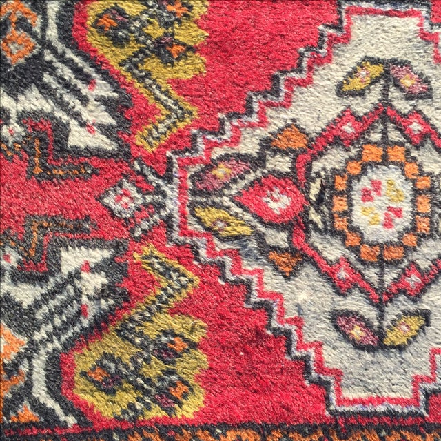 "Anatolian Persian Rug, 1'5"" x 3'3"" - Image 5 of 9"