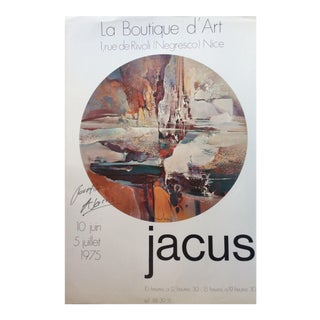 Original Abstract Art Exhibition Poster For Sale