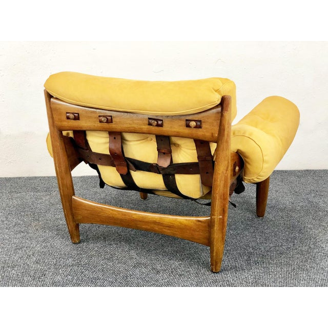 Mid 20th Century Sergio Rodrigues - Isa Sergio Rodriguez Sheriff Armchair 1957 For Sale - Image 5 of 6