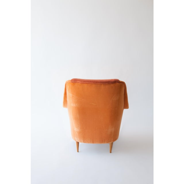 1950s Italian Armchairs Attributed to Carlo DI Carli For Sale - Image 5 of 8