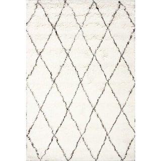 New Zealand Wool Shag Rug- 9′ × 12′ For Sale