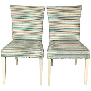 Pair of Mid-Century Modern Side Chairs For Sale