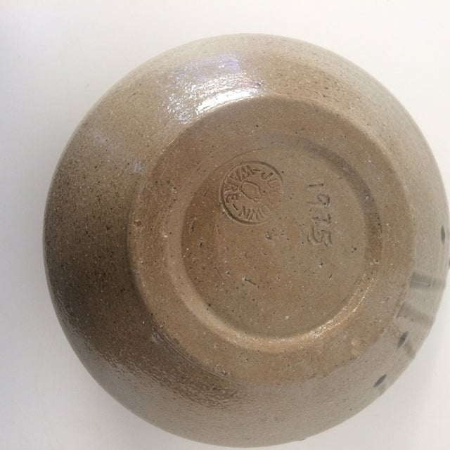 Ceramic 1975 Jugtown-Ware Cachepot For Sale - Image 7 of 9