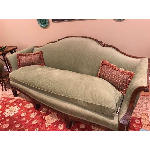 Chippendale Carved Mahogany Sofa - Image 3 of 11