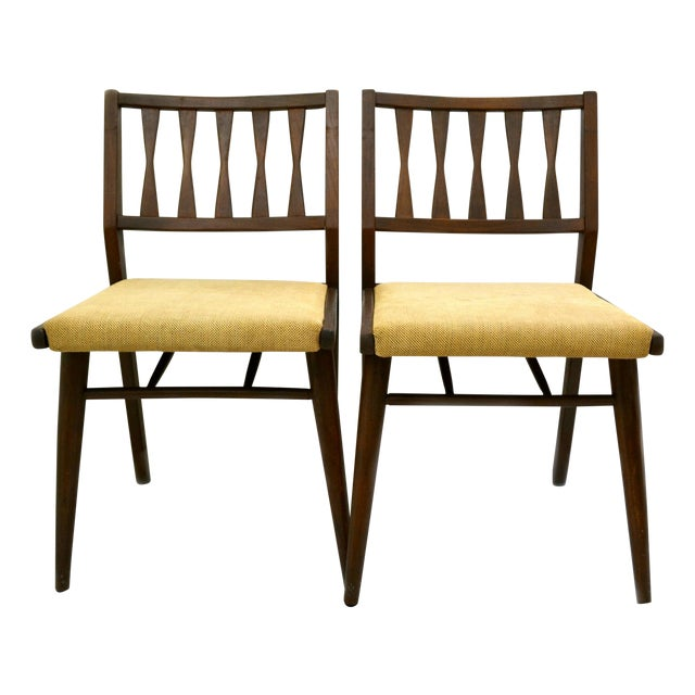 Holman Danish Modern Dining Room Chairs - Pair - Image 1 of 8