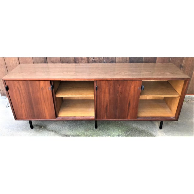1960s Florence Knoll Walnut Sideboard For Sale In Washington DC - Image 6 of 9