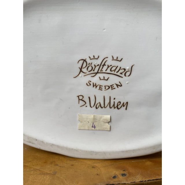 Swedish Porcelain Rorstrand Vase by Bertil Vallien For Sale - Image 11 of 13