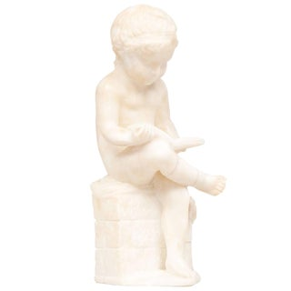19th Century Italian Alabaster Sculpture