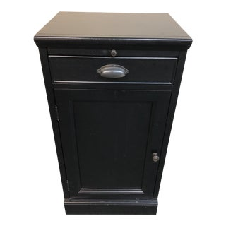 Small Black Bar Cabinet