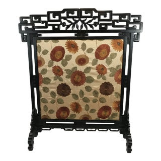 19th Century Antique Fire Screen For Sale