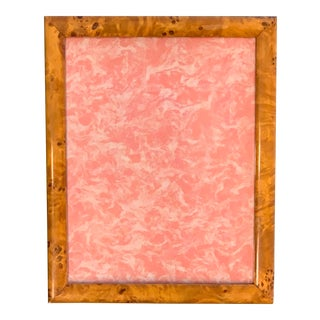 "Vintage 50's Birdseye Maple 8""x10"" Photo Frame. For Sale"