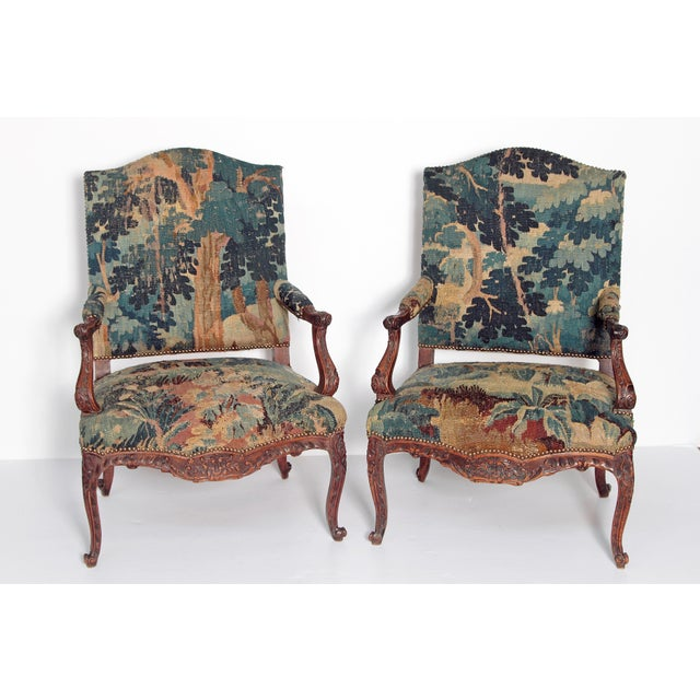 Pair of Period Louis XV Fauteuils - Image 2 of 9
