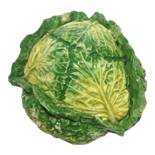 Vintage Italian Cabbage Sculpture For Sale