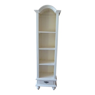Off-White Wooden Bookcase