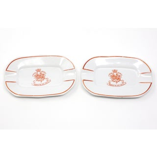 Vintage Madrid Palace Hotel Ashtrays - a Pair Preview