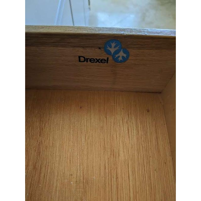 1970s Campaign Drexel Accolade White Credenza For Sale - Image 9 of 11