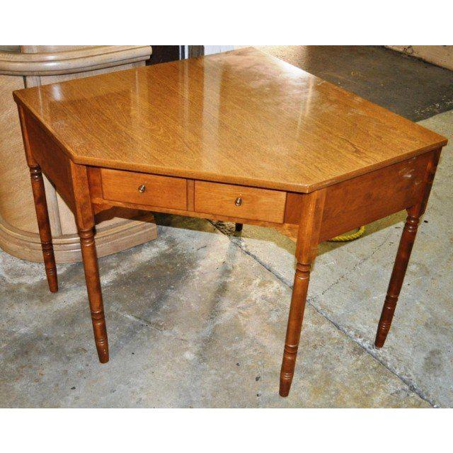 Ethan Allen Corner Desk Chairish