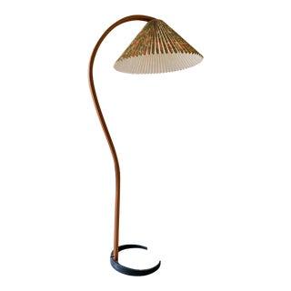 Caprani Bentwood Lamp W/ Original Shade For Sale
