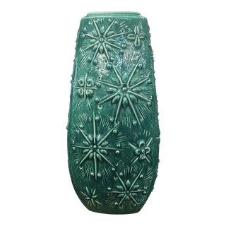 Scheurich Kosmos West German Pottery Vase For Sale
