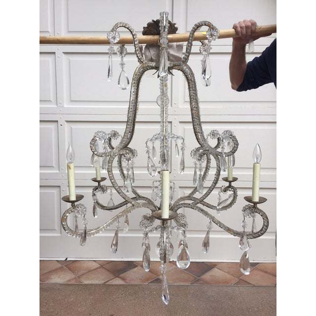 "Dennis & Leen Dennis & Leen ""Chateau"" Chandelier For Sale - Image 4 of 5"