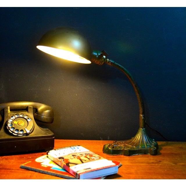 Vintage Industrial Desk Lamp - Image 6 of 7