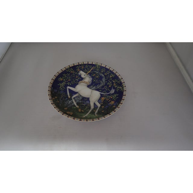 Modern Hutschenreuther Fine German China Wall Plate For Sale - Image 3 of 7