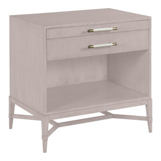 Shea Bedside Table, Elephant Gray For Sale
