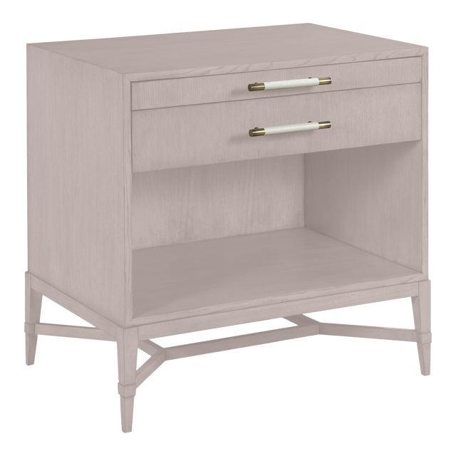 Shea Bedside Table, Elephant Gray For Sale