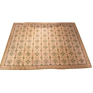 20th Century Neoclassical Style Needlework Carpet