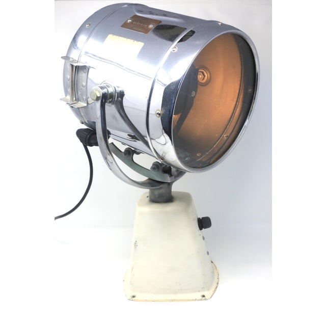 Vintage Ray-Line Marine Search Light - Newly Rewired - Vintage Lamp For Sale - Image 4 of 13