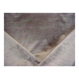 Designers Guild Glenville Pebble Goldstone Velvet Upholstery Fabric - 6 3/8 Yards For Sale