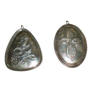 Towle Sterling Medallions - A Pair
