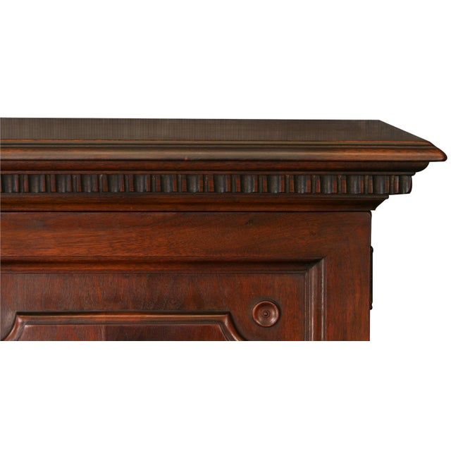 Antique 1900s Mahogany Cabinet - Image 6 of 8