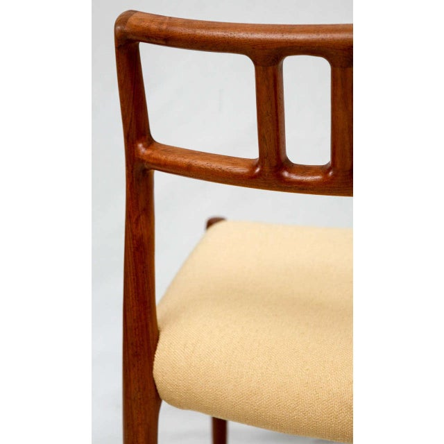 Set of 4 Niels Moller Dining Chairs For Sale - Image 9 of 9