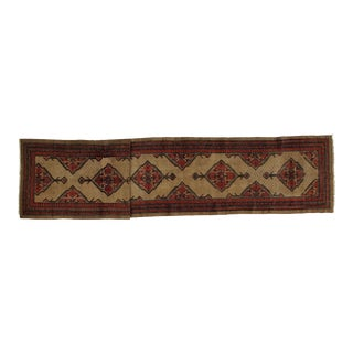 Early 20th Century Antique Sarab Runner Rug - 2′10″ × 15′8″ For Sale